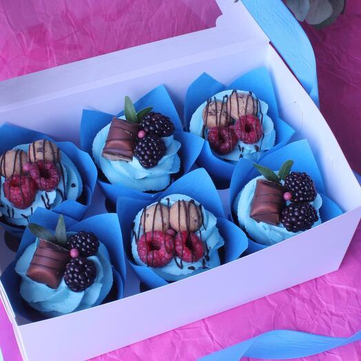 Cupcake set for boys