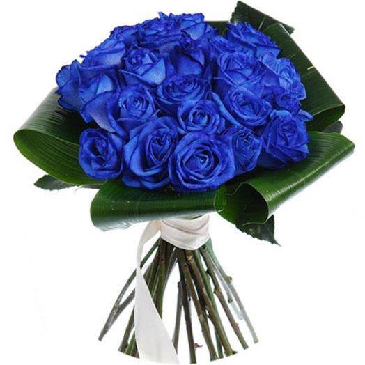 Синяя жемчужина: букеты цветов на заказ Flowwow