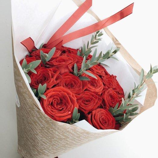 Алые паруса: букеты цветов на заказ Flowwow