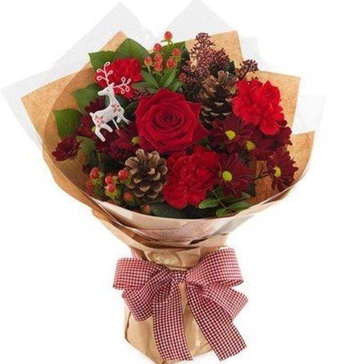 БЦ-160142 Зимнее настроение: букеты цветов на заказ Flowwow