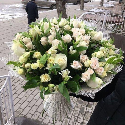 Букет Белая Нимфа: букеты цветов на заказ Flowwow