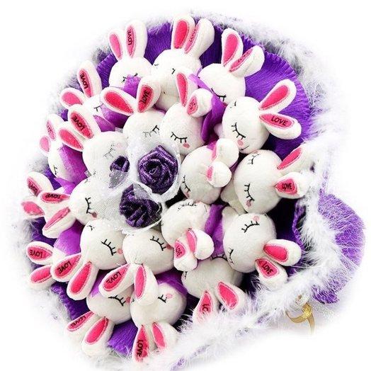 Моей Зайке: букеты цветов на заказ Flowwow
