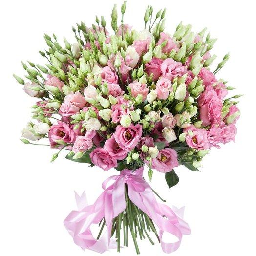 Букет из эустомы Барокко: букеты цветов на заказ Flowwow