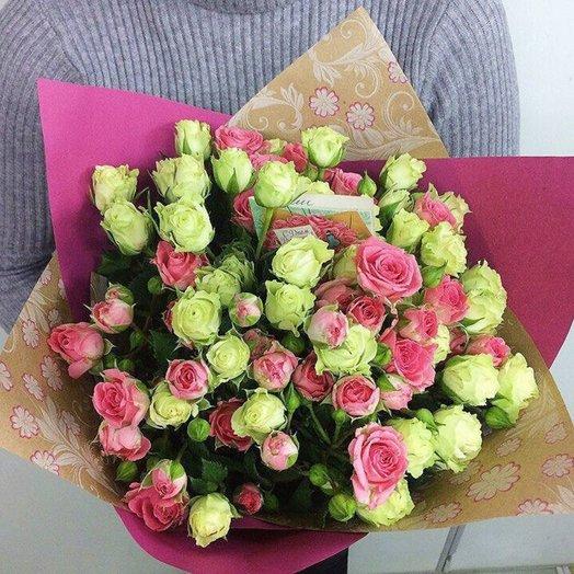 Букет Розовая мечта: букеты цветов на заказ Flowwow