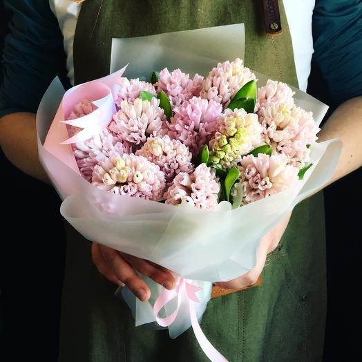 Трогательный гиацинт: букеты цветов на заказ Flowwow