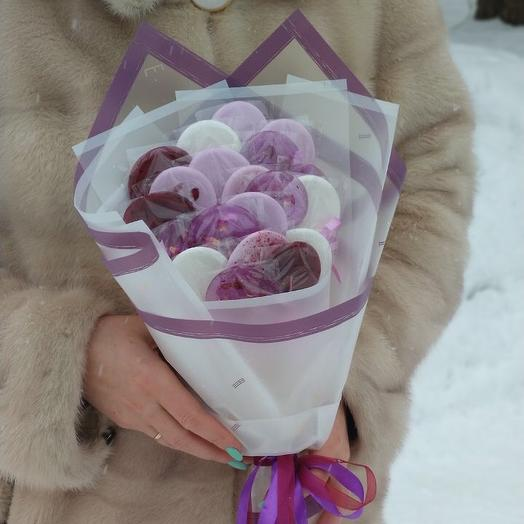 Малиновый микс: букеты цветов на заказ Flowwow