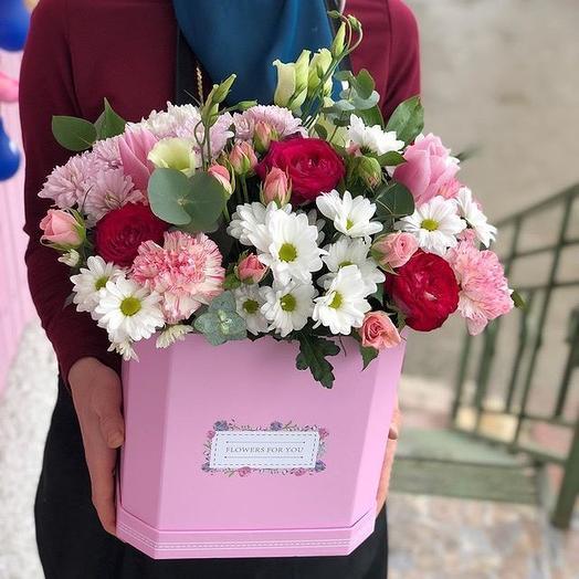 Сундучок принцессы: букеты цветов на заказ Flowwow