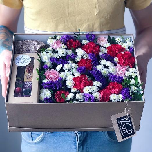 Box 4 Большой 1: букеты цветов на заказ Flowwow