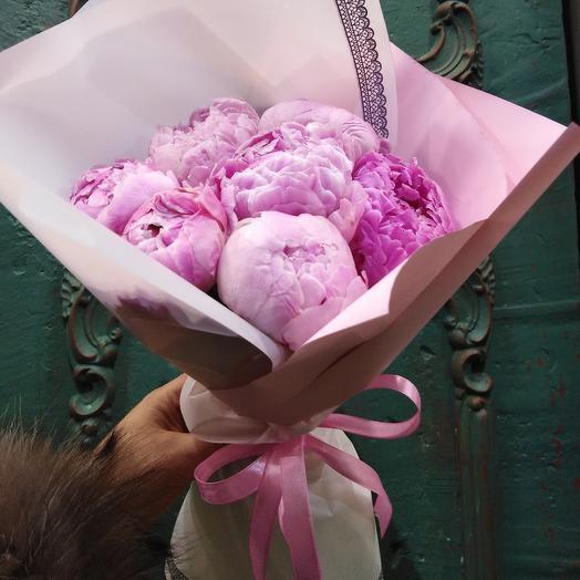 Великолепные пионы: букеты цветов на заказ Flowwow