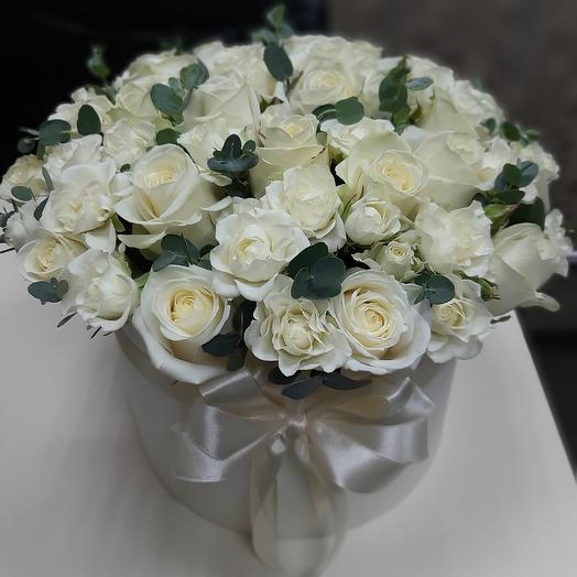 Белый ангел Z3: букеты цветов на заказ Flowwow