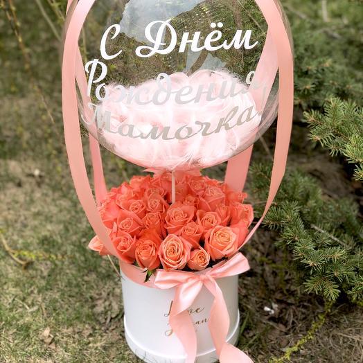 Баблс пинк: букеты цветов на заказ Flowwow