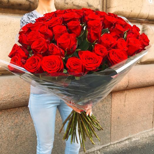 Бархатные розы: букеты цветов на заказ Flowwow