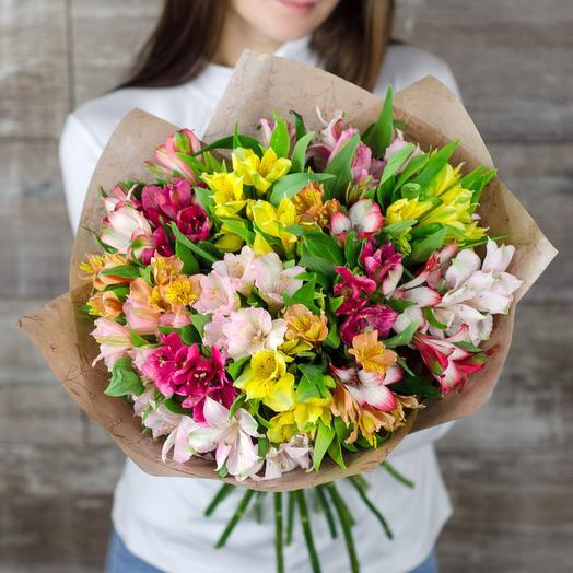 19 Mixed Alstromerias: flowers to order Flowwow