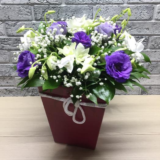 Коробочка радости: букеты цветов на заказ Flowwow