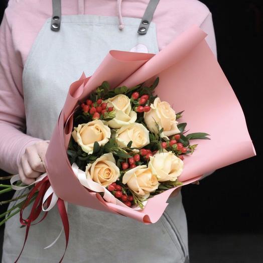 Комплимент4: букеты цветов на заказ Flowwow