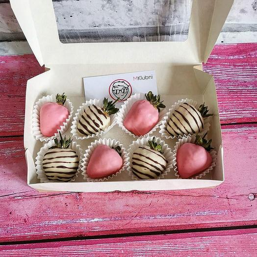Клубника в шоколаде Mini 1: букеты цветов на заказ Flowwow