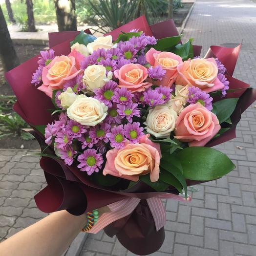 Букет «Тирамису»: букеты цветов на заказ Flowwow