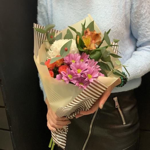 Букет «летний»: букеты цветов на заказ Flowwow
