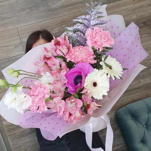 Букет конфетка: букеты цветов на заказ Flowwow