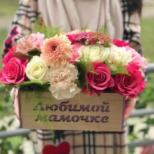 Весна для любимой мамочки: букеты цветов на заказ Flowwow