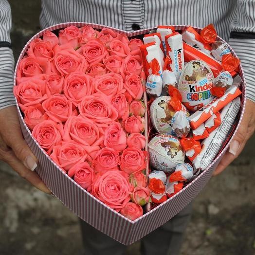 Моей милой: букеты цветов на заказ Flowwow