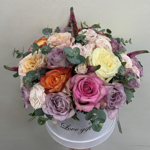 Волшебная коробка: букеты цветов на заказ Flowwow