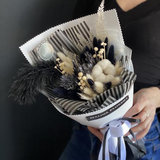 Сухоцветный букет: букеты цветов на заказ Flowwow