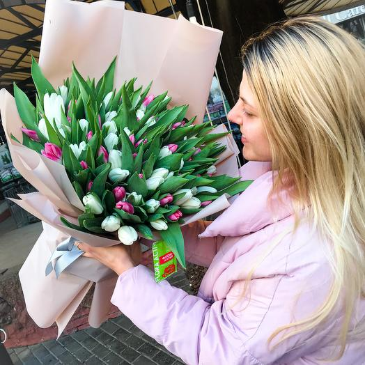 Букет из тюльпанов «Феерия»