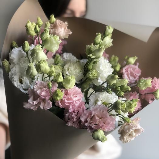 Эустома кудрявая: букеты цветов на заказ Flowwow
