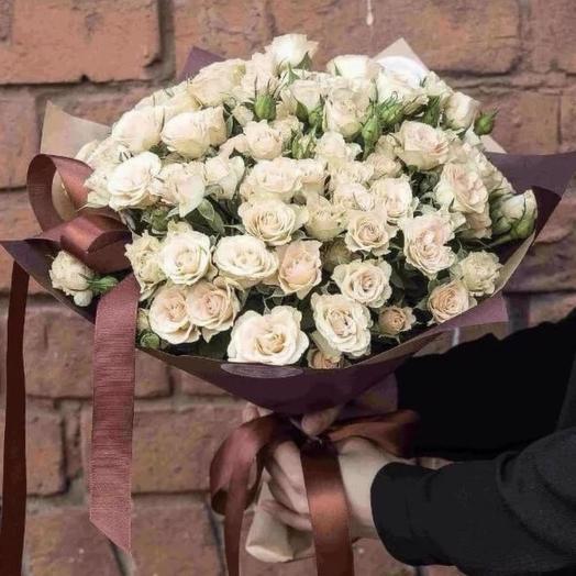 Взбитый крем: букеты цветов на заказ Flowwow