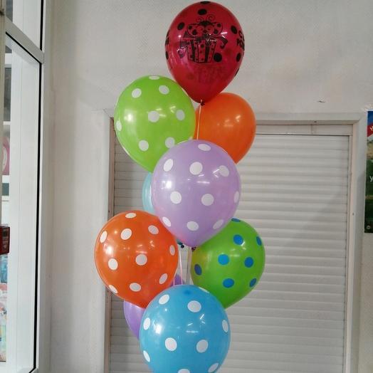 Гелиевые шары с обработкой