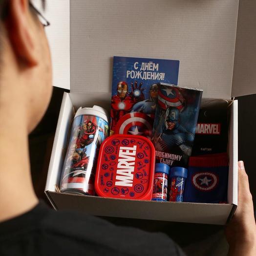 Подарочный бокс Marvel