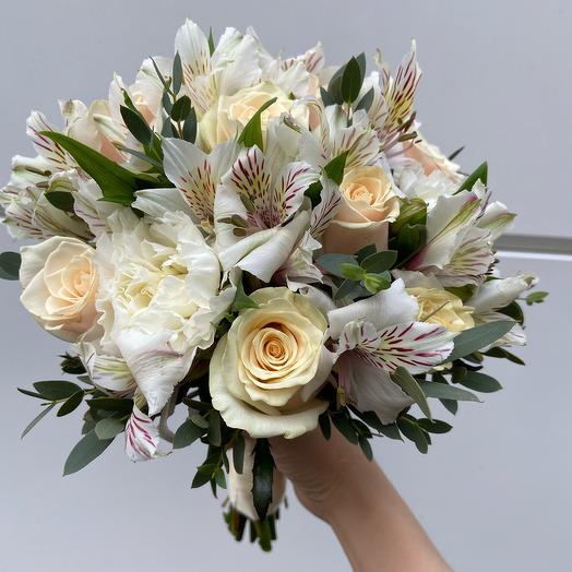 Букет Невесты «Облако нежности»
