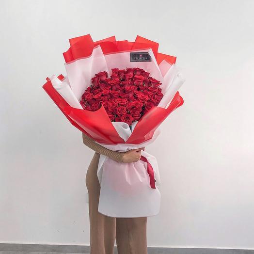 61 красная Роза
