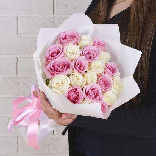21 Микс (Роза Premium 40см)
