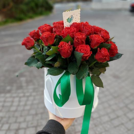 """Цветы в коробке  """"Любовь-морковь"""""""
