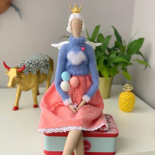 Интерьерная кукла Тильда - Мюзетта