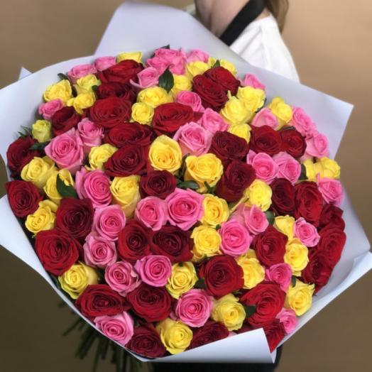 101 Роза в букете
