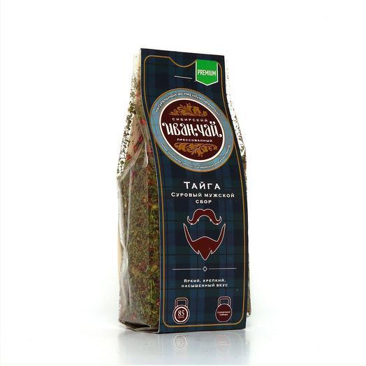 Иван-чай «Тайга, суровый мужской сбор»