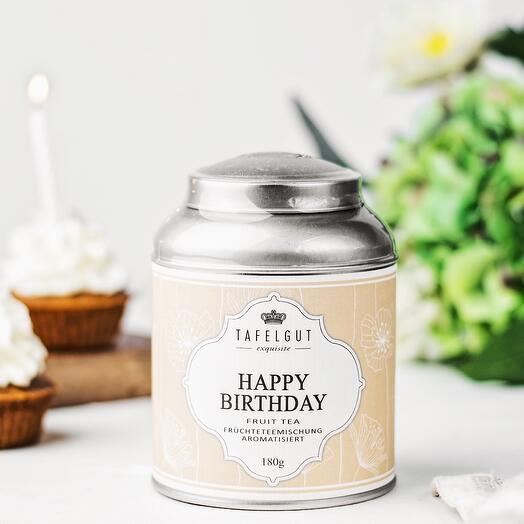 Happy BIRTHDAY II tea
