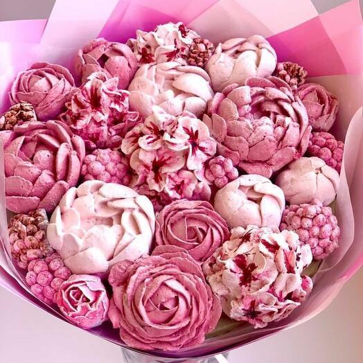 Marshmallow bouquet handmade