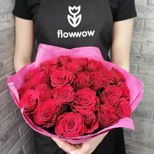 25 роз все для любви😍💖
