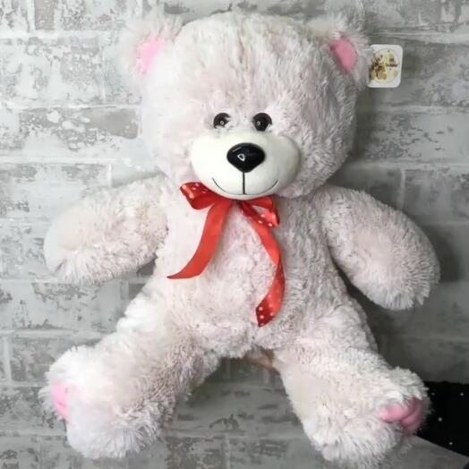 Медведь Патрик 60см. Цвет карамельный
