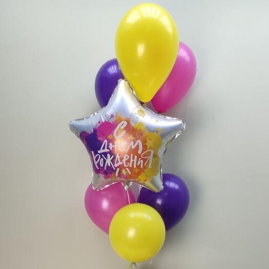 Фонтан с днём рождения