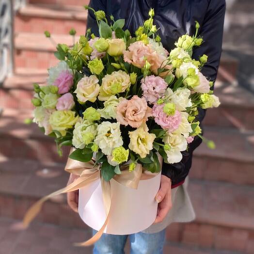 Цветы в коробке «Для особенной»