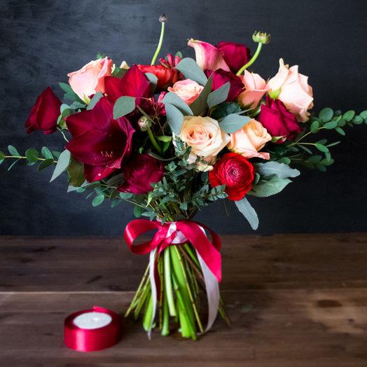 Яркий евро-букет: букеты цветов на заказ Flowwow