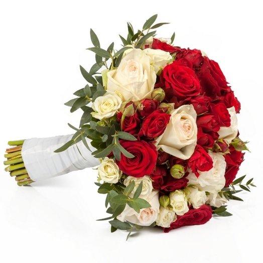 Свадебный букет № 12: букеты цветов на заказ Flowwow