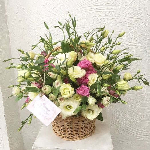 Цветочная карзина: букеты цветов на заказ Flowwow