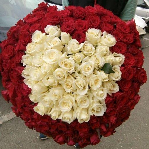 Пылкое признание: букеты цветов на заказ Flowwow