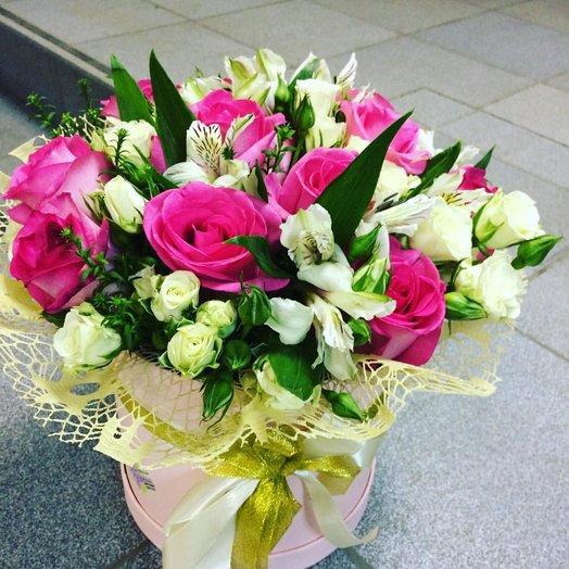 """Коробка с цветами """"Ожидание"""": букеты цветов на заказ Flowwow"""